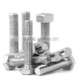 DIN standard stainless steel bolts and nuts