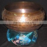 Tibetan Singing Bowls ~ Antique Senen Metal Himalayan Old Singing Bowl ~ Sound Healing Buddhist Chakra Bowl