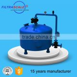 Industrial stainless steel sea water media filter/SS sand filter/active carbon filter