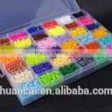 Direct selling plastic ironing perler beads in puzzle as gifts for kids /mini plastic beads