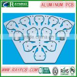 Electronics manufacturing aluminum pcb, aluminum pcb board, aluminum pcb for LED with white solder mask ink