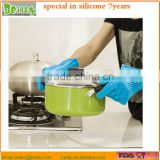 Custom Amazon Heat Resist bbq Grilling BBQ Silicone Gloves/Oven Gloves for Cooking Baking