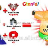 2016 Hot sales foam padded sumo wrestling suits,sumo suit,inflatable sumo wrestling suits