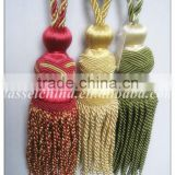 Bullion tassel tieback for curtain, curtain tiebacks made in china