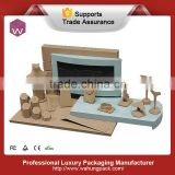 Body Neck Stands Jewelry Wooden Display Units For Jewelry Shop Display