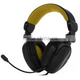 Big Foldable overhead headphone tablet PC gaming headset for ps4 xbox one with detachable mic