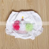cute pink baby bloomers newborn flower shorts