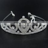 Rhinestone Crown Rhinestone Tiara Metal Crown Queen Crown Princess Crown Bridal Head Piece Wedding Crystal Crown Tiara Headpiece