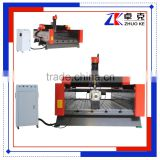 Heavy Duty Stone CNC Router Engraving Machine 1325 For Marble Granite Jade Stone With 600mm Feeding Height Rotary Axis ZK-1325