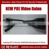 NEW HD IP POE Video Balun for CCTV Security Camera