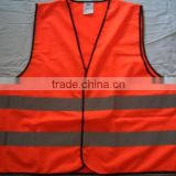 red vest uniform with reflective tapes work coveralls in apparel