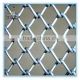 Decorative aluminum chain link fence parts