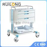 Hospital ABS Surgical Medical Dressing Equipment Trolley Sale