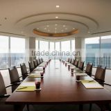 Custom made Hotel Furniture CLASSIC wooden office meeting table and chair                                                                         Quality Choice