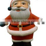 giant outdoor air-blown christmas inflatables santa claus