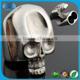 SW-CL054 Hot product made in China Bracelet Safety Clasp skull stainless steel Silver Clasps Wholesale Jewelry Magnetic Clasp