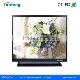 Square screen 19inch security LCD monitor for Industrial automation equipment