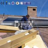 parabolic heat pipe Vacuum solar collector with Solar Keymark approved for sale