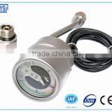 All Stainless steel Oil filled Electric contact mpa pressure gauge with alarm with temperature compensation