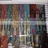 2016 pure silk fabric female custom-made printed silk scarf , printed silk scarf, faux silk scarf