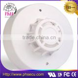 Wired ABS housing ceiling mounted kitchen heat detector