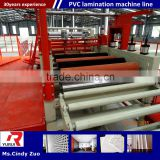 continuous working pvc laminated gypsum ceiling board machine/pvc laminated gypsum tiles production line