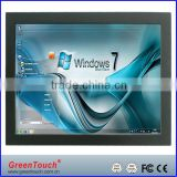 GreenTouch 12.1 inch Open Frame industrial LCD Monitor VGA/DVI interface, Ultra Slim Touch Open Frame Monitor