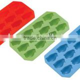 factory produce colorful Ice Cube Container, penguin shape