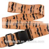 High Quality Safety Lock Strap custom airport custom adjustable luggage strap with kinds of Travel Tags Accessories