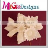 Ceramic flower horn fish hot sales OEM design welcome