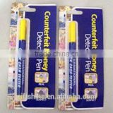 Counterfeit money detector pen, banknote test pen