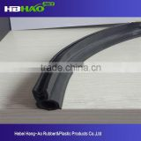 Quality-assured Waterproof rubber seal strip/glass window rubber seal strip/adhesive rubber seal strip