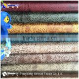 100 Polyester Suede Fabric / Faux Suede Upholstery Fabrics / Suede Fabric For Sofa