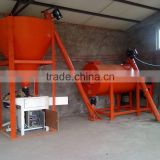 Dry Mortar Production Line / Putty Powder Mixing Machine