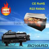 ce rohs commercial refrigerator freezing spare parts truck refrigeration compressor R404A for Solar chest freezer refrigerator