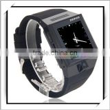 "1.54"" S5 Android 4.0.4 MTK6515 Dual-core 1.0GHz 4GB ROM Bluetooth Fashion Smart Watch Mobile Phone Smart Phone Black"
