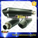 Carbon Fiber Silencer Slip On Muffler Exhaust Motorcycle parts