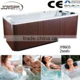 Luxury European acrylic balboa system fiberglass swimming pool / portable bathtub for adults swim spa JY8603