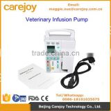 Low price Veterinary Infusion Pump for animal / human use Vet clinics hospital CE ISO certificate