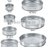 soil coal medicine lab sample selection sieve/BS ISO micron ss304 metal sieve/ woven wire mesh test sieves