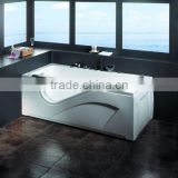 KD-011 Acrylic 760*900*180mm Freestanding Whirlpool Massage Hot Tub