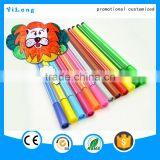 Free sample kids paiting water color magic pens with stencil, Colorful water color pen for kids