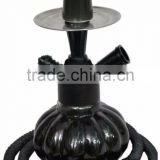 black coloured glass hookah shisha for sale