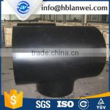 Tee Type and round Head Code butt welded Seamless pipe fitting seamless carbon steel tee/Carbon steel butt welded pipe fitting