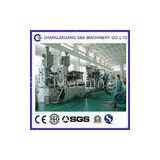 Double Wall Corrugated Plastic Pipe Extrusion Line , Pe Pvc Pvc Pipe Production Line CE