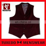 Spring unisex top quality promotional men stylish waistcoat