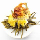 100% Handmade Flowering Blooming Tea with Osmanthus Lily