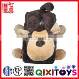 Monkey Plush Animal Cartoon Tissue Box Cover Home Decor Baby Doll Stuffed Toy