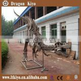 2016 museum quality dig realistic plastic dinosaur fossils toy for fun