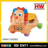 Lovely Infant Cartoon Walker Car With Light And Music